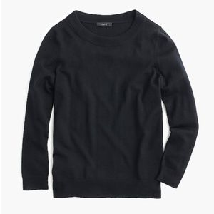 J. Crew Tippi sweater Merino wool Black